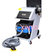 220V 2200W Auto dust free dry suction type polishing tool, collecting polisher, mill dry grinding integrated system