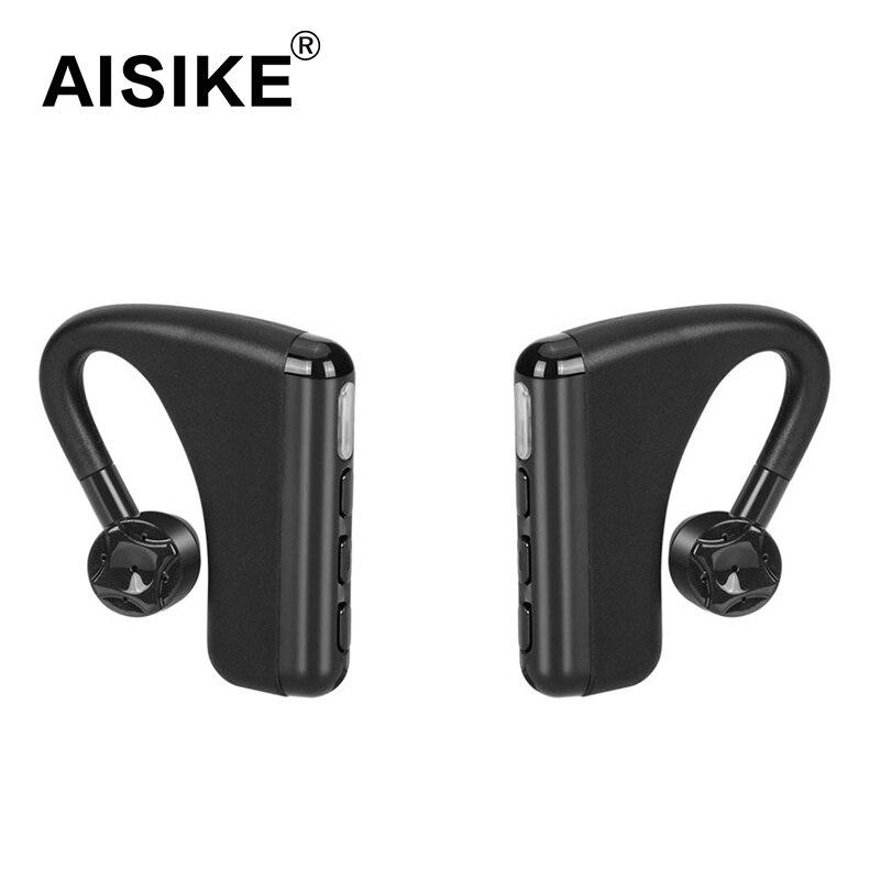 AISIKE LR2 True Wireless Earbuds Bluetooth V4.1 Sweatproof Stereo Music Sport Earphone Ear Hook Style with Mic<br>