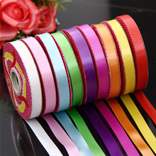 Satin Ribbon Colorful Streamers For Wedding Party Birthday New Year Decorations 1 Roll  Cloth Tape DIY Party Supplies GI872518