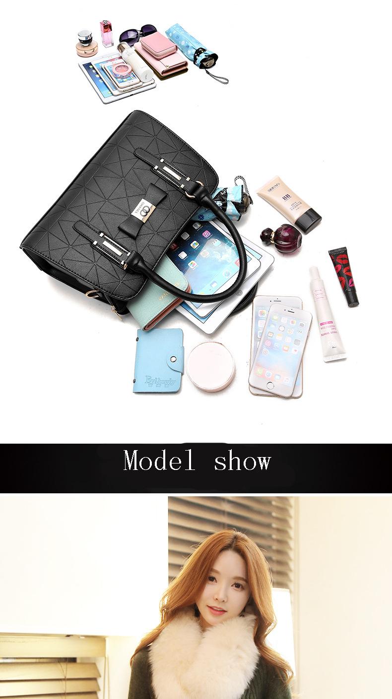 MICKY KEN Hot Sale Fashion Women Leather Handbag 5