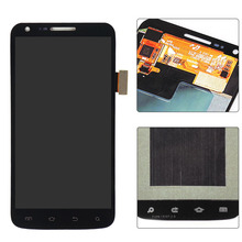 100% Tested Black LCD For Samsung galaxy S2 Skyrocket i727 AT&T LCD Display touch screen with digitizer Assembly ,Free shipping