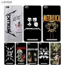 Buy Lavaza Metallica band group Cover Case Xiaomi Redmi Note 2 3 4 Pro Prime 4A 4X 3S Mi 5 5S 6 Plus mi6 mi5 S mi5s Cases for $1.23 in AliExpress store