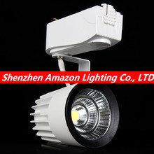 1pcs COB 15W 20W 35W 40W 1000lm-4000lm AC85-265V Led Track light Track aluminum Ceiling Rail Track lighting Spot Rail(China)