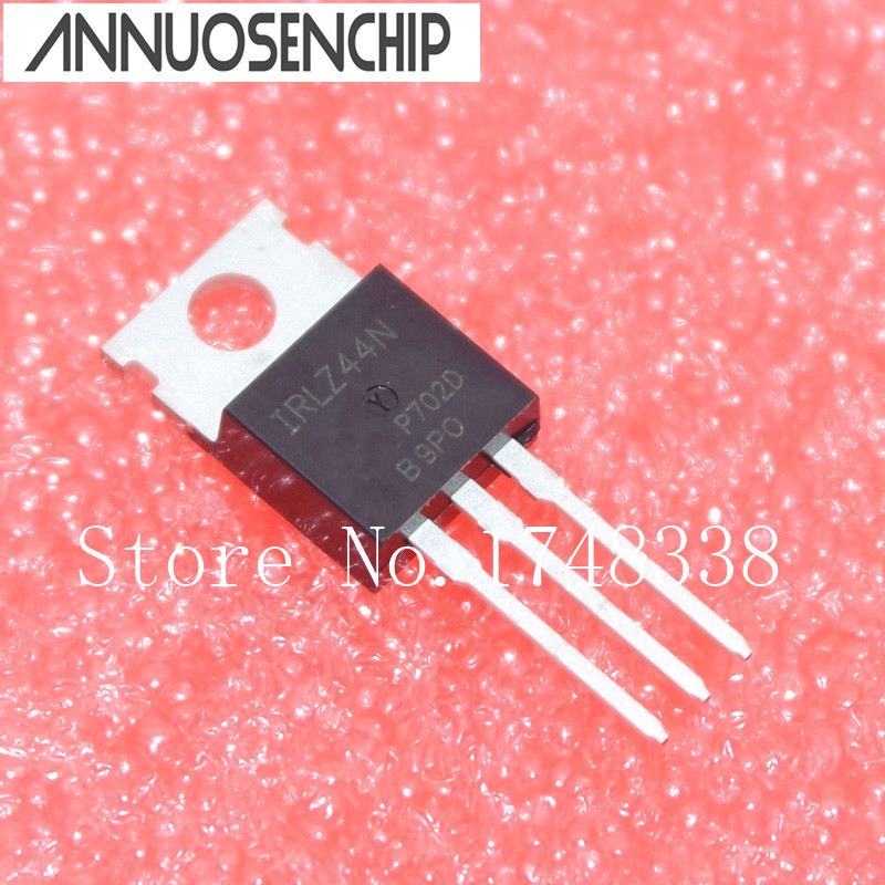 5PCS NEW IRFZ44R MOSFET N-CH 60V 50A TO-220AB