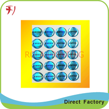 Transparent decoration crystal dome stickers