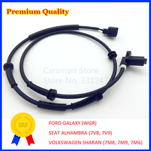 ABS Sensor Rear Left Right for FORD GALAXY WGR SEAT ALHAMBRA 7V8 7V9 VOLKSWAGEN SHARAN 7M0927807D 1048604 98VW2B372AA(China)