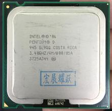 Intel Pentium PD 945 SL9QQ DO 775 CPU 4M Cache 3.40 GHz 800 MHz 100% good for delivery of the tes(China)