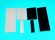 Black and white Replacement Memeory Card Door Slot Cover Lid 3 Parts Door Covers for Nintendo Wii Console