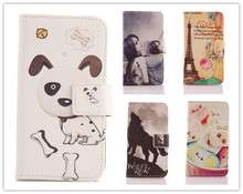 LINGWUZHE Flip PU Leather Pouch For Lenovo P770 Protection Back Cover Book Style With Card Holder Cell Phone Stand Shell