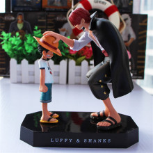 One Piece Anime A Prize Memories Luffy Red Shanks shankusu Action Figure Toy Model Building Kits Free Shipping(China)