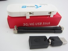 Unlocked Huawei E8372h-608 4g 3g usb wifi modem 3g 4g usb stick plus 2pcs antenna and 360 degree USB converter(China)
