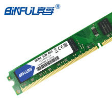 Binful Original DDR2 1GB 2GB 800MHz/667MHz pc2-6400 RAM memory pc2-5300 1.8V for Desktop computer non-ECC(China)