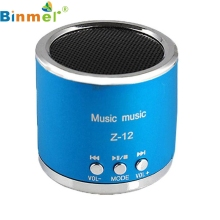 Good Sale Wireless Portable Mini Speaker FM Radio USB Micro SD TF Card MP3 Player + USB 2 in 1 line Jun 10