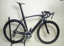 Kalosse 9kg Road bike Carbon 48/51/54/56/58cm ,2017 new bicicleta carbon road bike, 18/20/22/24/27 speed(China)