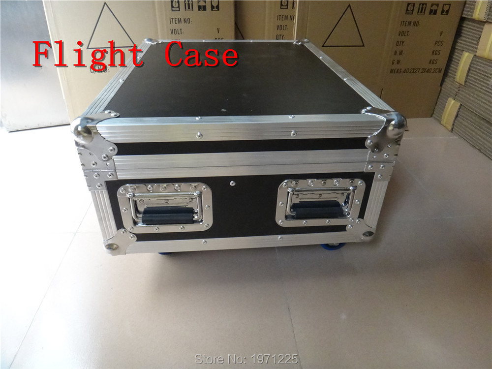 Flight Case With 12 pieces LED Par 7x9W RGB Color With DMX DJ for Stage Theater Disco Nightclub Party<br>
