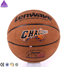 Original Lenwave LW-0779 Indoor Outdoor Men's Basketball Ball PU Materia Size 7 Basketball Free With Net Bag+ Needle(China)
