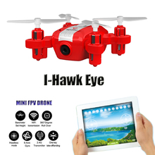 Buy I-Hawk Eye Mini Drones Camera HD FPV Dron WIFI Quadrocopter 2.4G 6 Axis Rc Helicopter Quadcopter Remote Control Helicoptero for $37.63 in AliExpress store