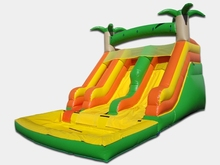 (China Guangzhou) manufacturers selling inflatable slides, inflatable castles, Pool slide CB-0077