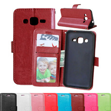 Colorful Flip Wallet Leather Case For Samsung Galaxy J2 J200 J200F J200G Silicone Cover Mobile Phone Case For Samsung Galaxy J2