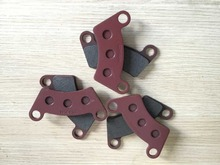 3 pairs brake pads of motorcycle, moped dirt bike brake pad gokart dune buggy atv and utv