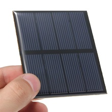 Wholesale! Hot 0.6W 2V Polycrystalline Epoxy Solar Panel Mini Solar Cell DIY Solar Module High Quality 100PCS/Lot(China)