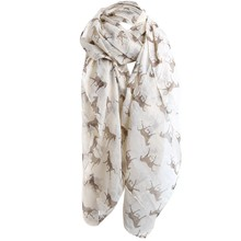 FEITONG scarf luxury brand 2017 Hot Sale Women Ladies Horse Print Pattern Lace Long Scarf Warm Wrap Shawl 1PC Women silk scarf(China)