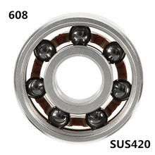 1x 608 Bearing Antirust Silicon Nitride Ball Mixed Good Performance For Hand Fidget Spinner Skateboard(China)