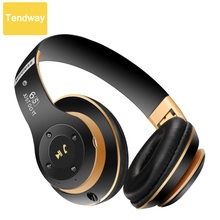 Bluetooth Headphones Wireless Stereo Headsets with Mic Support TF Card FM Radio Mp3 Player for iPhone 7 Samsung Xiaomi and Calls