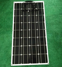The lowest price to sell by 32 mono solar cell made of semi-flexible solar panels, 100w 12v