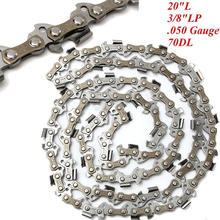 "Buy Mayitr 20"" Chainsaw Saw Chain Blade 3/8""LP.050 Gauge 47DL Shape Blade Wood Cutting Chainsaw Parts for $7.67 in AliExpress store"
