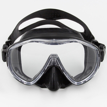 Hot sale Water Sport Training Diving Glasses Anti-Fog Snorkeling Equipment Safe Comfort Tube Silicone Scuba Diving Mask Snorkel(China)