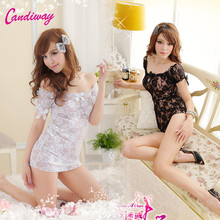 Buy Hot Women Sexy Lingerie Sexy Erotic Costumes Lenceria Sexy Cosplay Uniform Sex Products Maid Outfit Fancy Transparent Dress Suit