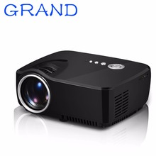 GP70 Min Projector,1200 Lumens 800x480pixels Portable Pico LED HDMI USB Digital TV DVB-T Home Theater Proyector Beamer happybate