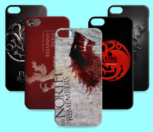 Ice and Fire Cover Relief Shell For Apple iPod Touch 4 5 Cool Game of Thrones Phone Cases For Apple iTouch 6(China)
