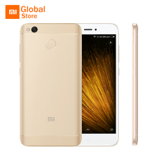 "Original Xiaomi Redmi 4X 2GB 16GB 4 X Mobile Phone Snapdragon 435 Octa Core 5.0"" 13.0MP 4100mAh FDD LTE 4G MIUI 8 Fingerprint ID"
