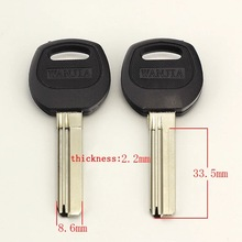 free shipping B293 anti-theft House Door Key blanks Locksmith Supplies home Blank Keys(25pcs/lot)(China)