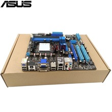 original Used Desktop motherboard For ASUS M4A785-M support Socket AM2/AM2+ 4*DDR2 support 16G 6*SATA2 USB2.0 uATX(China)