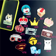(min mix order $ 5 ) New Arrival Harajuku Badge Acrylic Brooches With Pins Cartoon Figure Doraemon Cat Brooch Brochexz03