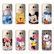 Mickey Minne Soft TPU Silicone Case For Samsung S6 S6 Edge S7 S7 Edge S3 S4 S5 Mini Note 3 4 5 A3 A5 A7 J1 J5 J7 2016 2017 Cover