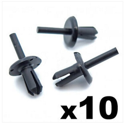 LAND ROVER EXTERIOR SIDE SKIT SILL /& ROCKER COVER MOULDING FASTENER TRIM CLIPS