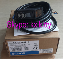 New and original E3JK-RR12-C, E3JK-TR12-C  OMRON Photoelectric switch  Photoelectric sensor   2M