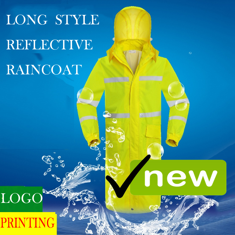 SPARDWEAR waterproof 300D Oxford and pu coated rainsuit jacket and pant fluorescent orange split raincoat  free shipping<br>