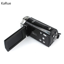 "karue 2.7"" TFT LCD 16MP Digital Camera HD 720P Photo Video Camcorder 16X Zoom Anti-shake DV LED Light Non-touch Cheap Camera(China)"