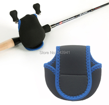 Neoprene Fishing Reel Protective Case Fly Reel Pouch Bag Baitcasting Storage Bag Fishing Tackle