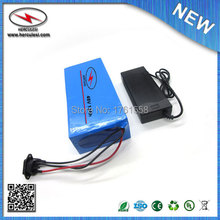 FREE SHIPPING 48V 12Ah Lithium Li ion Electric Battery with BMS 54.6V 2A Battery For E Bike Electric Bicycle