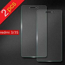 2 pieces Xiaomi Redmi 3S 3 S Pro Tempered Glass Screen Protector film for Redmi 3 S X Pro Prime mobile Phone Tempered Glass 5.0""