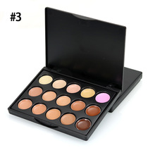 1set Professional 15 Color Camouflage Facial Concealer Palettes Neutral Makeup Eyeshadow Cosmetic(China)