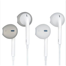 2 Pair Silicone Ear Pads Ear bud Tips Eartip Earplug Earpads for iphone 5 6s SE White