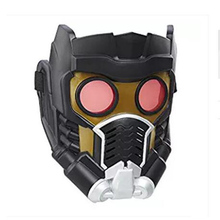 DC Movie Cartoon Guardians of the Galaxy Vol. 2 Peter Jason Quill Star-Lord Mask Helmet Halloween Cosplay Mask(China)