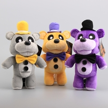 "High Quality FNAF Five Nights At Freddy 3 Colors Fazbaer Teddy Plush Toys Stuffed Animals X'mas Gift12"" 30 cm"